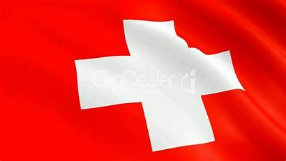 Swiss Flag Clips