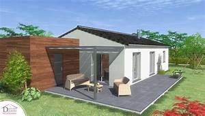 Modele De Terrasse : maison rt2012 de plain pied golo contemporaine ~ Preciouscoupons.com Idées de Décoration