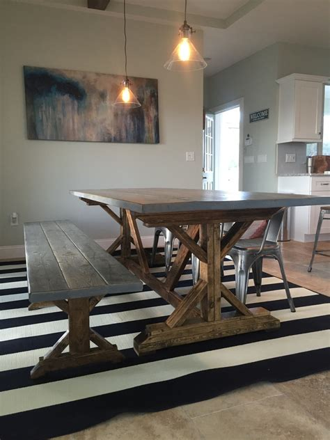 ana white distressed fancy  farmhouse table diy projects