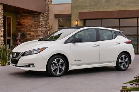 2018 Nissan Leaf First Drive Review Motortrend