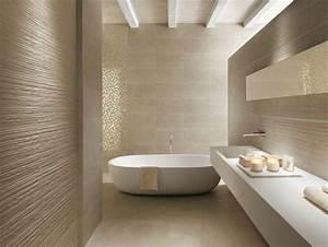beaucoup d39idees en photos pour une salle de bain beige With carrelage salle de bain zen