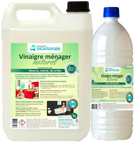 vinaigre d alcool blanc cuisine vinaigre blanc d 39 alcool naturel concentré à 12 degrés 1
