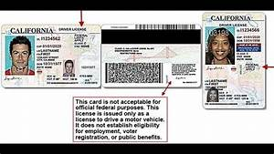 California drivers license documents needed