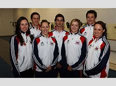 London 2012 Olympics British Modern pentathlon teams