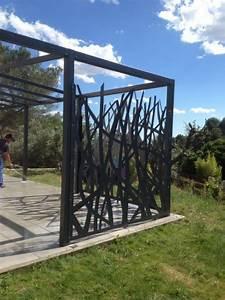 fabrication d39une tonnelle sur mesure pas cher nimes With bache pour tonnelle de jardin 5 tonnelle sur mesure en fer forge pour terrasse ou jardin