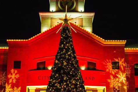 sugar land s annual christmas tree lighting