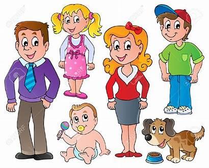Members Clipart Mama Papa Cartoon Cliparts Clip