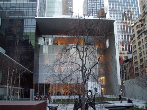 moma  york museum  modern art manhattan  architect