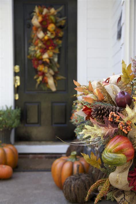 pumpkin planters  minute tips  decorating  front