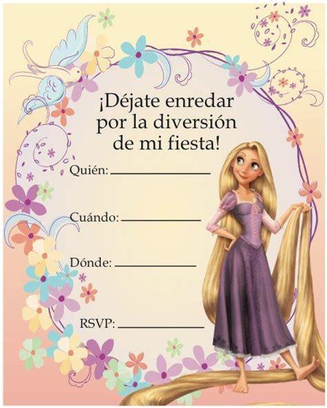 invitaciones de rapunzel tarjetas imprimibles las 25 mejores ideas sobre invitaciones de cumplea