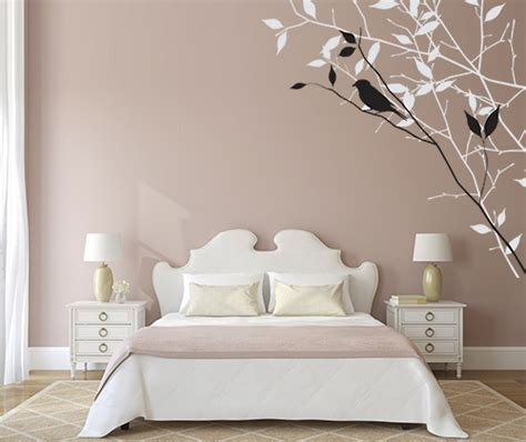 Bedroom Design Wall by Wall Painting Design Ideas
