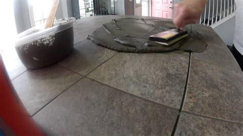 kitchen island tile countertop youtube