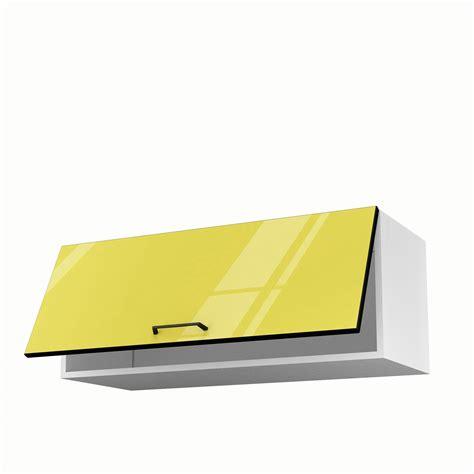 meuble cuisine haut leroy merlin meuble de cuisine haut jaune 1 porte pop h35xl90xp35 cm