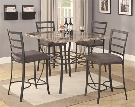 metal kitchen table awesome kitchen metal kitchen table sets with home