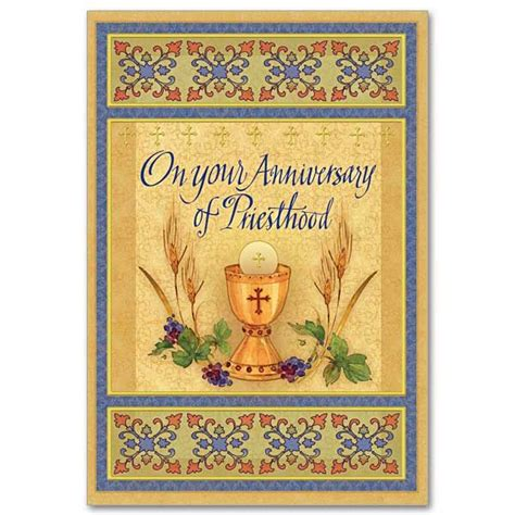 your anniversary of priesthood ordination anniversary card odds and ends anniversary