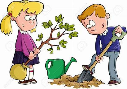Clipart Dig Digging Shovel Boy Children Clipground
