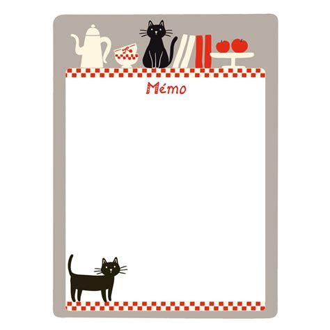memo cuisine tableau mémo magnétique chats p021 v030310 achat