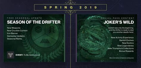 destiny 2 season 5 start date theme and what we