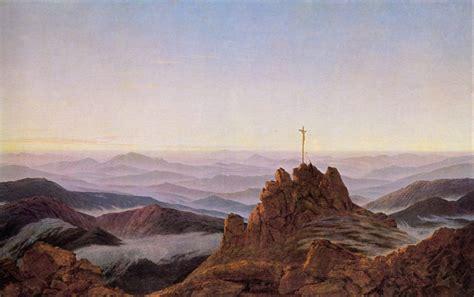 The Contemplative Landscapes of German Romantic Painter