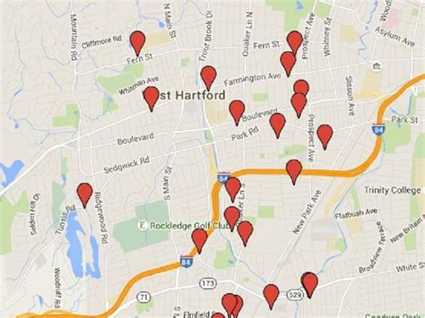 find offenders map free offender map west hartford homes to be aware of on