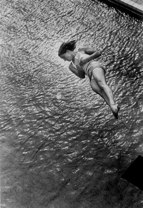 Vintage Black & White Photographs of The Plunge ~ vintage