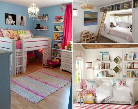 Clever And Space Saving Ideas For A Tiny Kids' Room