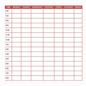6 best images of free printable daily schedule template With daily schedule template for students