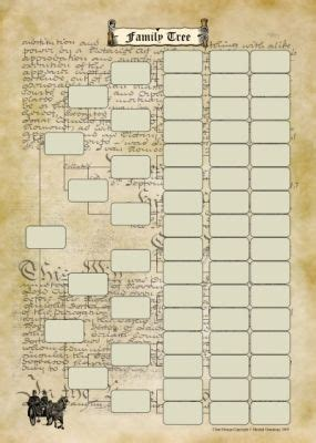 generation chart family tree chart family genealogy