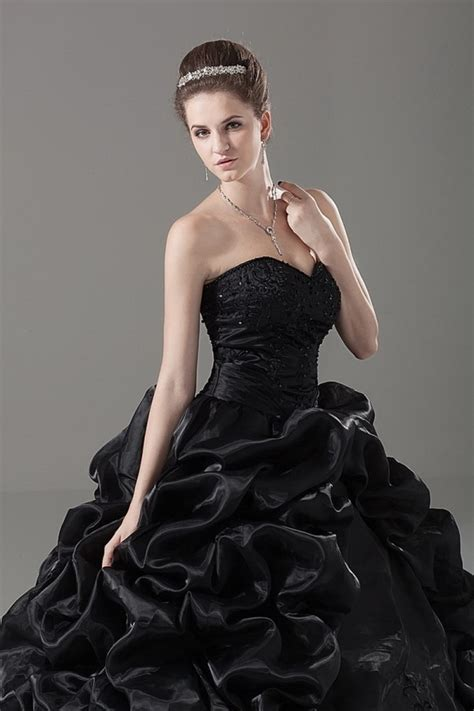 elegant cheap black wedding dresses cherry marry