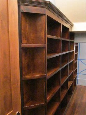 hand crafted custom walk  butler pantry shelving units