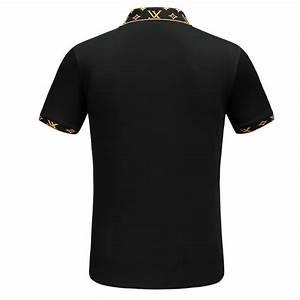 T Shirt Louis Vuitton Homme : high quality t shirts louis vuitton cotton broderie noir ~ Melissatoandfro.com Idées de Décoration