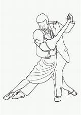 Coloring Dancing Tango Dance Pages Printable Dancers Couple Sensual Adult Digi Stamps Drawing Print Passion Sheets Coloriage Drawings sketch template