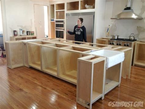how to build a kitchen island bar kitchen island sawdust