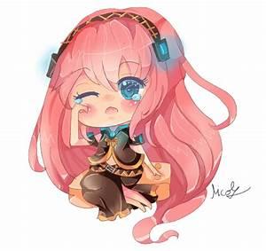 Megurine Luka Vocaloid chibi by KyouKaraa on DeviantArt
