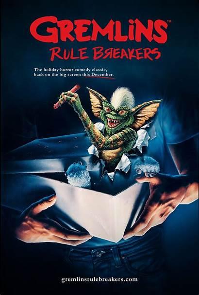 Gremlins 1984 Dvd Poster Spielberg Steven Rule