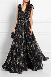 Alexander McQueen | Floral-print silk-chiffon gown | NET-A ...