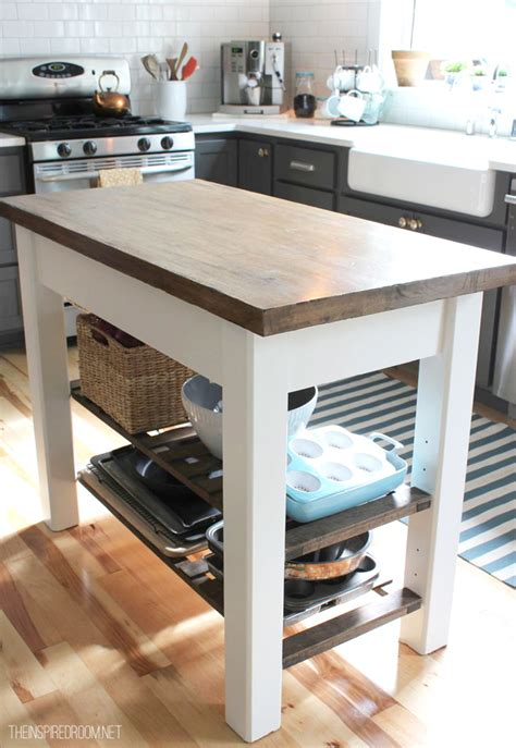 wood kitchen island top diy kitchen island from unfinished furniture to