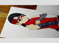 Drawing Sarada Uchiha from Naruto YouTube