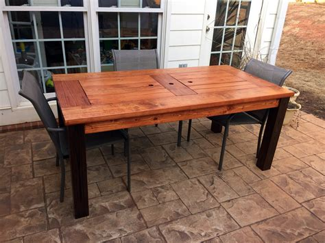 Patio Table by White Patio Table With Coolers Diy Projects