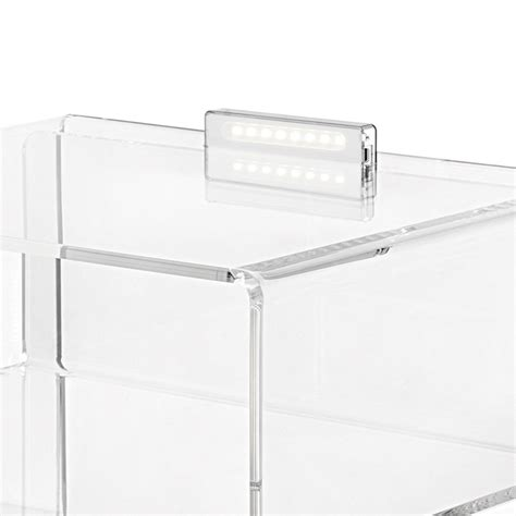 Table De Nuit Transparente by Table De Chevet Transparente Lumineuse 224 Led Adelia