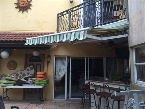 retractable awnings miami fl   awnings