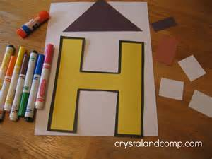 Letter H Preschool Craft
