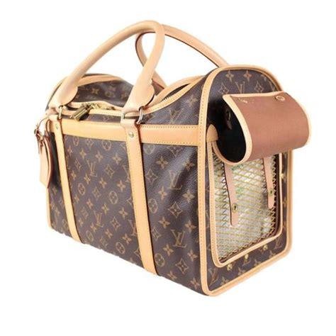 louis vuitton sac chien dog pet carrier  luggage