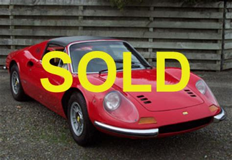 This 1972 ferrari dino 246 gt chassis 03964 is a us market example that was originally distributed through chinetti garthwaite imports. Exotics-ForSale.com » Ferrari Dino 246 GTS - 1973 - For Sale
