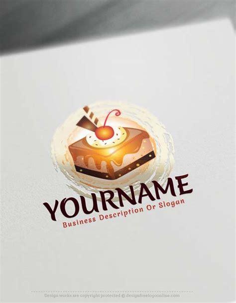 logo maker  sweet cupcake logo design