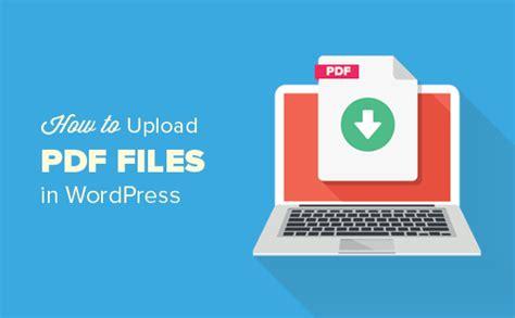 upload  files   wordpress site