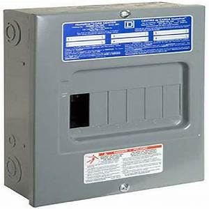 Square D By Schneider Electric Hom612l100scp Homeline 100