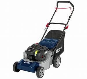 Spear  U0026 Jackson 41cm Hand Push Petrol Lawnmower With