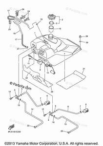 Yamaha Snowmobile 2006 Oem Parts Diagram For Fuel Tank