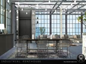 sims resource industrial penthouse  pralinesims